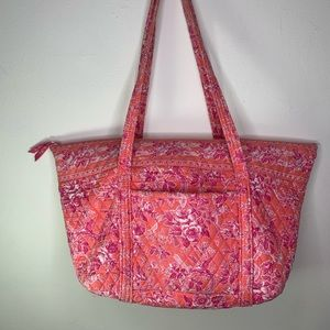 Vera Bradley Hope toile retired large weekend bag